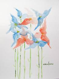 henry colchado abstract watercolor paintings 13