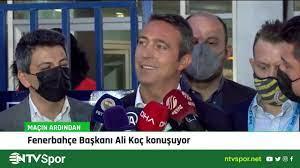 Ali Koç: Bizi bulaştırmasınlar, sabrımızın bir noktası var! - YouTube