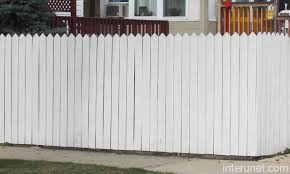wood fence white fences gates Pinterest Wood fences Fences