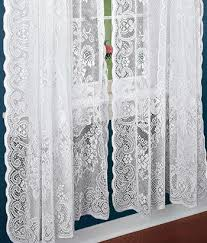 American Balmore Lace Rod Pocket Panel from Country Curtains