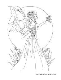 Fairy Coloring Pictures Trustbanksurinamecom