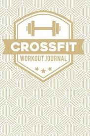 Daily Workout Journal Crossfit Workout Journal Wod Book Crossfit Fitness Tracker