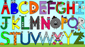 Alphabet Colors Song - YouTube