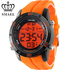 mens orange watches reviews online shopping mens orange watches fashion casual watches men orange led digital watches sports alloy clock male automatic date watch army men s wristwatch ws1145