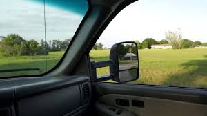 ECCPP Tow Mirror Review and Installation. - YouTube