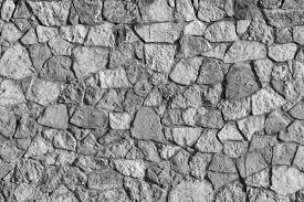 Abstracte Textuur Van Een Stenen Oppervlak Van Grijze Kleur Voor Een