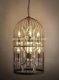 chandeliers birdcage chandelier shabby chic birdcage chandelier with crystals birdcage lighting canada full image for
