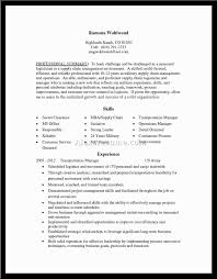 Supply Resume Examples Examples Of Resumes