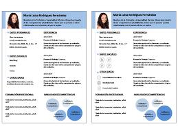 Formato De Curriculum Word Formatos De Curriculum Vitae En Word
