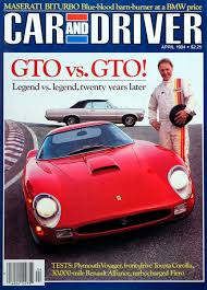 Typical pricing from new york city to most areas in florida approx. Car And Driver On Twitter From The Archive Gto Vs Gto Two Icons Of The Past Face Off Https T Co Mp3p9hurvn