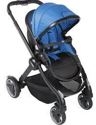 Универсальная <b>коляска Chicco Fully</b>, цвет <b>Power</b> Blue, купить за ...