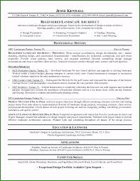 Resume Examples Architect 45 Well Designed Landscaping Resume Examples For 2019