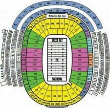 Lambeau Field Seating Chart Green Bay Packers Football Tickets For Sale Ebay