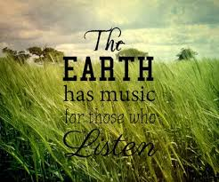 What are your favorite sounds of nature? | Green Quotes ... via Relatably.com