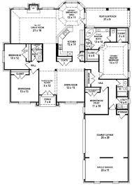 good looking 4 bedroom 3 bath house plans 11 1 1247