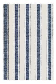 seaside cottage rugs blue awning stripe indoor outdoor rug
