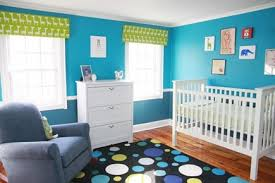 blue and green bedroom. Blue And Green Bedrooms - Colorful Nursery By Oh! Apostrophe Via Atticmag Bedroom