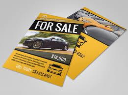 Sales Flyer Templates Car For Sale Flyer Template Mycreativeshop