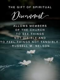 ldses eldernelson spiritualgifts the gift of spiritual discernment is a supernal gift it allows members of the church to see things not visible and