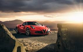 2015 alfa romeo 4c wallpaper. 2015 Alfa Romeo Launch Edition With Wallpaper