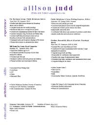 Headers For Resumes