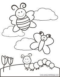 Halloween colouring pages for kids to colour0d56. Springtime Coloring Page Boyama Kitaplari Sayilara Gore Renk Boyama Sayfalari