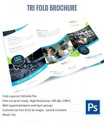 Free Tri Fold Brochure Templates Word Magnificent Word Brochure Templates Free Fold Tri Leaflet Template Download