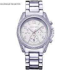 online get cheap trendy mens watches aliexpress com alibaba group hannah martin brand fashion luxury elegant diamonds business clock stainless steel w watch trendy mens watch
