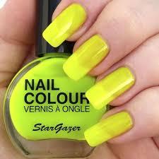 Lak Na Nehty Star Gazer Neon Yellow