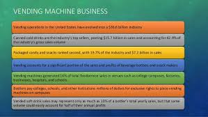 Vending Machine Profits In Schools Beauteous Vending Machine