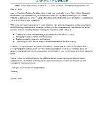 Cover Letter For Government Internship Political Internship Cover