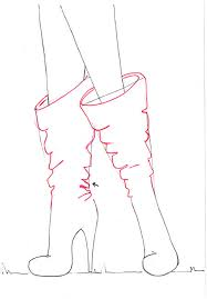 fashion boots drawing. drawing boots for fashion sketches tutorial a