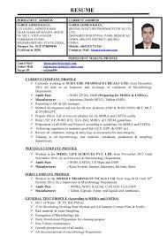 Microbiologist Resume - WORD