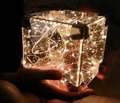 infinity cube. the infinity cube is a birthday gift to my girlfriend. in dark it sort of looks like tesseract from marvel movies. make this i ordered six