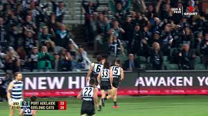 Get hold of your port adelaide vs geelong cats tickets now, watch as the adelaide oval lights up with excitement, and see port adelaide live with stubhub! Afl 2020 Qualifying Final Port Adelaide Power Past Geelong As It Happened Sport The Guardian