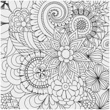 Free Coloring Pages Pdf Beautiful Printable Flower Adult Coloring