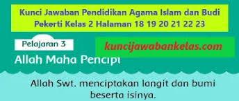 Try the suggestions below or type a new query above. Kunci Jawaban Pai Kelas 2 Halaman 18 19 20 21 22 23 Pelajaran 3 Kunci Jawaban