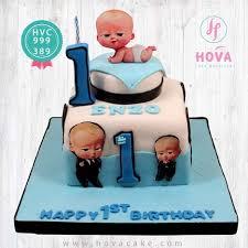 Birthday Cake Baby Boss Pesan Toko Dan Vendor Kue Hova Cake Jakarta
