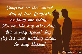 Another Word For Congratulations Wedding Congratulations