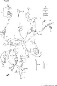 125 suzuki 4 wheeler wiring diagram 125 discover your wiring suzuki king quad 300 electrical schematic