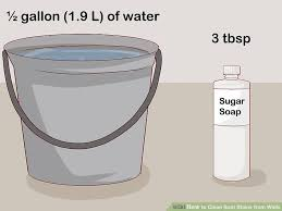remove oil stains from wall paint