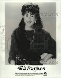 1986 Press Photo Actress Valerie Landsburg as Lorraine Elder in ...