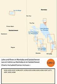 Canadian Charts For Opencpn Rm Cen12 Lakes And Rivers In Manitoba And Saskatchewan