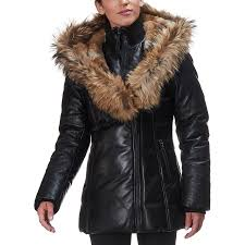 mackage ingrid down jacket women s black
