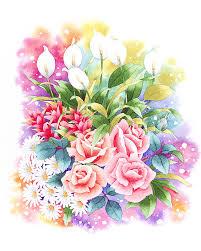 「花束 イラスト」の画像検索結果