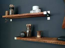 Oak Corner Floating Shelves Extraordinary Floating Shelf With Drawer Oak Grey Oak Floating Shelves Floating