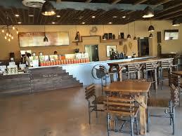 coffee bar. Bodhi Leaf Coffee Bar - Orange