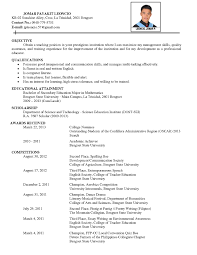 Hobbies For Resume Interests Curriculum Vitae Examples RESUME 60