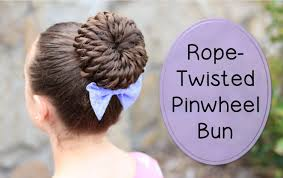 Pretty Girl Hair Style ropetwisted pinwheel bun prom hairstyles youtube 2959 by wearticles.com