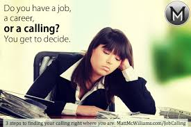 Calling For A Job Job Career Or Calling What Is Your Work Orientation